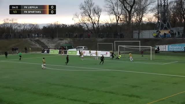 Video: FK Liepāja - FK Spartaks Jūrmala 1:2 (spēles labākie momenti)