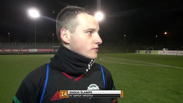 Video: FK Liepāja - FK Spartaks Jūrmala 1:2 (pēcspēles komentāri)