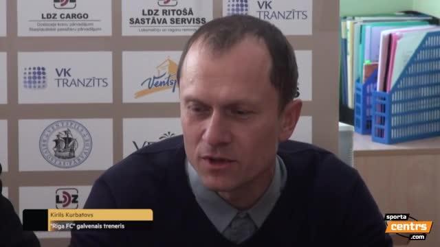 Video: FK Ventspils - Riga FC 1:1 (pēcspēles komentāri)