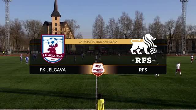 Video: FK Jelgava - RFS 4:0 (spēles labākie momenti)
