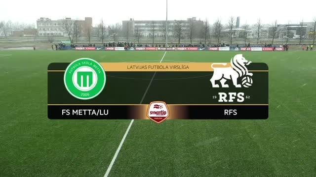Video: RFS - FS Metta/LU 3:2 (spēles labākie momenti)