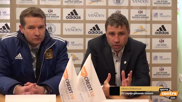 Video: FK Ventspils - FK Liepāja 2:2 (preses konference)