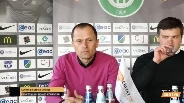 Video: FS Metta/LU - Riga FC preses konference 1:0 (2.apr.)