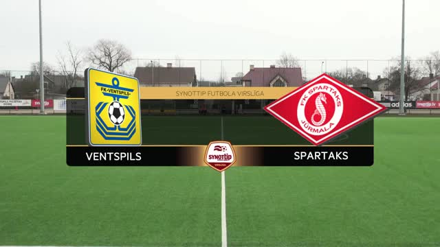 Video: FK Ventspils - FK Spartaks Jūrmala 2:1 spēles labākie momenti (2.apr.)