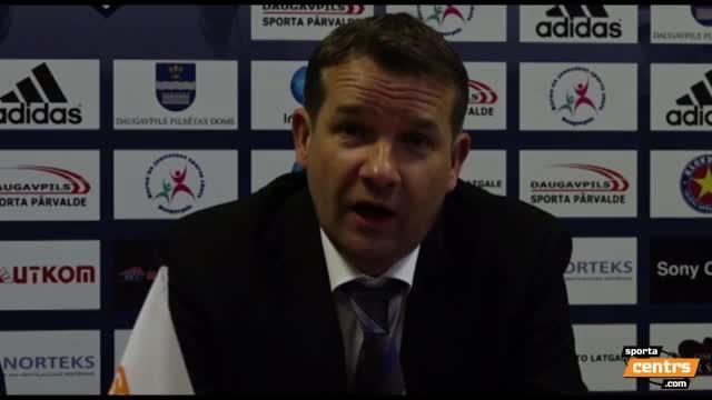 VIDEO: BFC Daugavpils - FK Ventspils 0:5 preses konference (16.apr.)