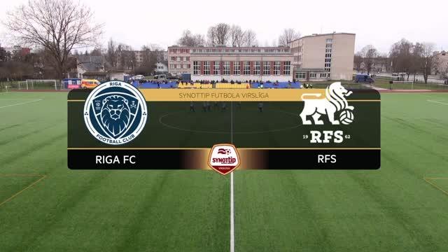 VIDEO: Riga FC - RFS 0:0 spēles momenti (17.apr.)