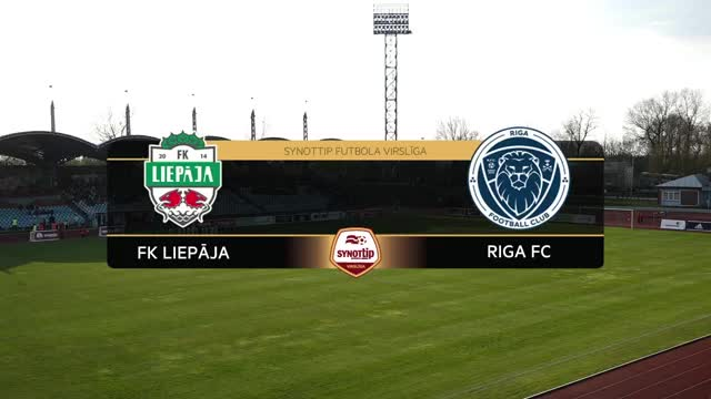 VIDEO: FK Liepāja - Riga FC 3:0 spēles momenti (30.apr.)