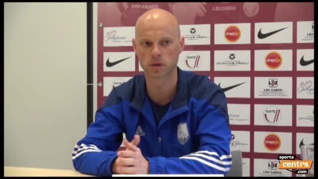 VIDEO: FK Jelgava - BFC Daugavpils 3:1 preses konference (30.apr.)