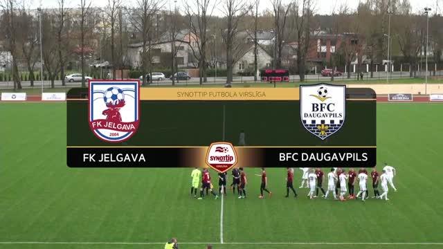 VIDEO: FK Jelgava - BFC Daugavpils 3:1 spēles momenti (30.apr.)