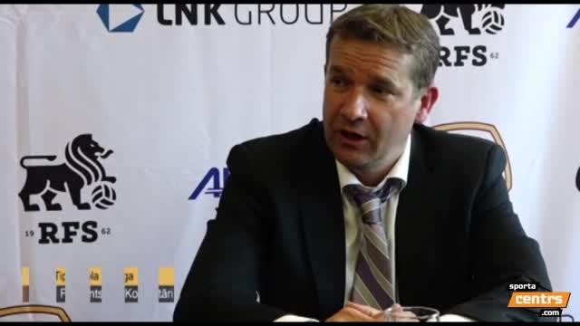 VIDEO: RFS - FK Ventspils 1:2 preses konference (8.mai.)