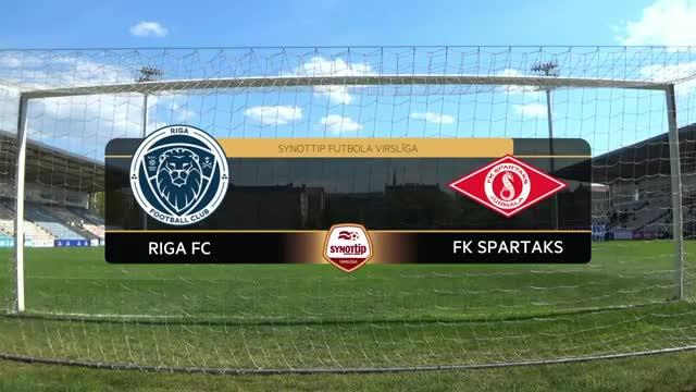 VIDEO: Riga FC - Spartaks Jūrmala 0:0 spēles momenti (8.mai.)