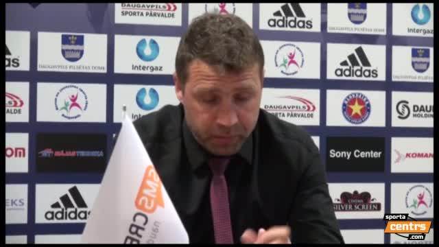 VIDEO: BFC Daugavpils - FK Liepāja 0:3 preses konference (9.mai.)