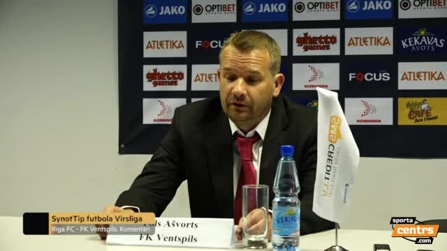VIDEO: Riga FC - FK Ventspils 1:1 preses konference (13.mai.)