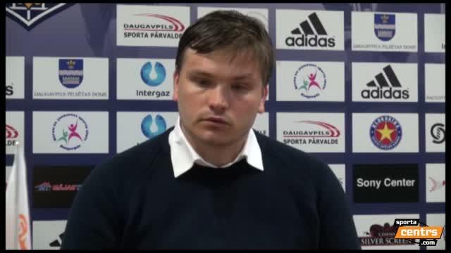 VIDEO: BFC Daugavpils - FS Metta/LU 0:1 preses konference (15.mai.)