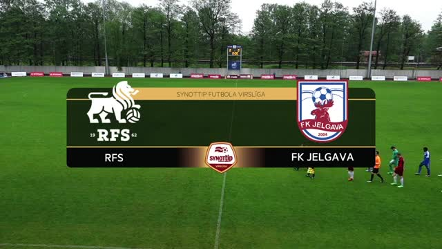 VIDEO: RFS - FK Jelgava 1:0 spēles momenti (14.mai.)
