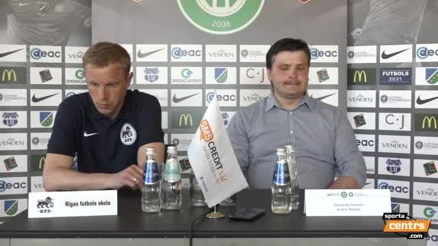 VIDEO: FS Metta/LU - RFS 1:1 preses konference (28.mai.)
