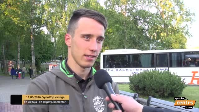 VIDEO: FK Liepāja - FK Jelgava 0:1 pēcspēles komentāri (11.jūn.)
