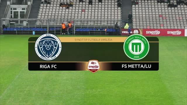 VIDEO: Riga FC - FS Metta/LU 2:1 spēles momenti (11.jūn.)