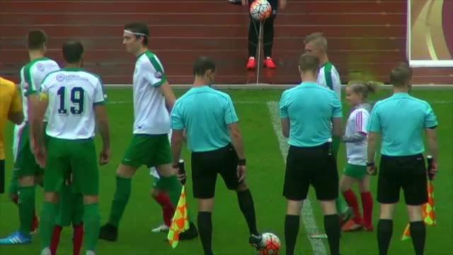 VIDEO: FK Liepāja - FS Metta/LU 3:0 spēles momenti (17.jūn.)