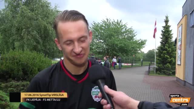 VIDEO: FK Liepāja - FS Metta/LU 3:0 preses konference (17.jūn.)