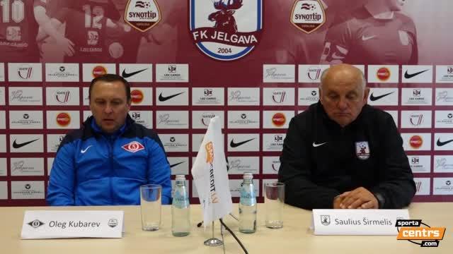 VIDEO: FK Jelgava - FK Spartaks Jūrmala 0:1 preses konference (18.jūn.)
