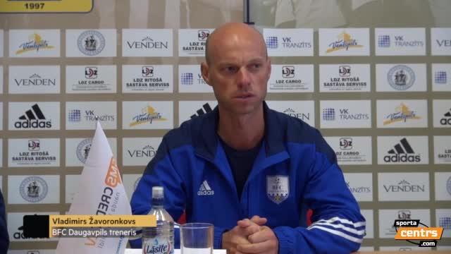 VIDEO: FK Ventspils - BFC Daugavpils 3:0 preses konference (18.jūn.)