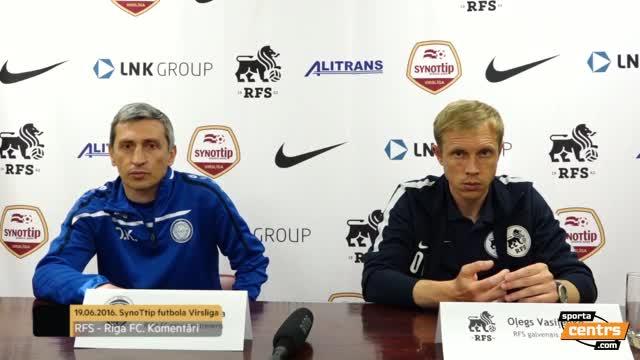 VIDEO: RFS - Riga FC 1:1 preses konference (20.jūn.)