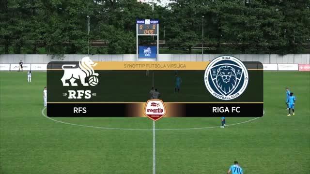 VIDEO: RFS - Riga FC 1:1 spēles momenti (20.jūn.)
