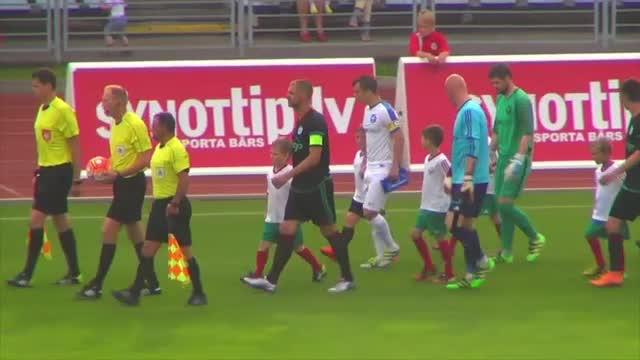 VIDEO: FK Liepāja - RFS 3:1 spēles momenti (26.jūn.)
