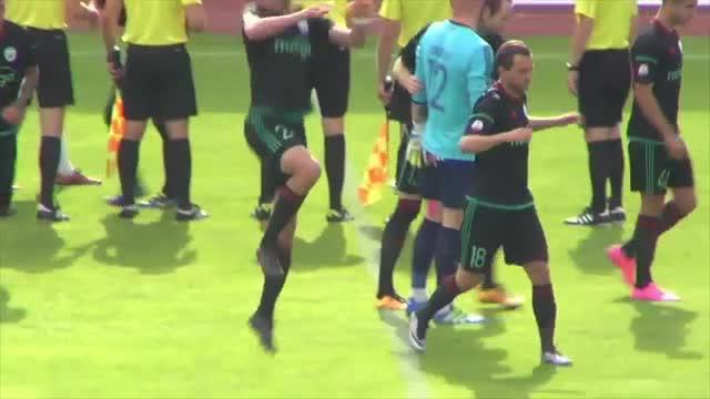 VIDEO: FK Liepāja - BFC Daugavpils 1:0 spēles momenti (8.jūl.)