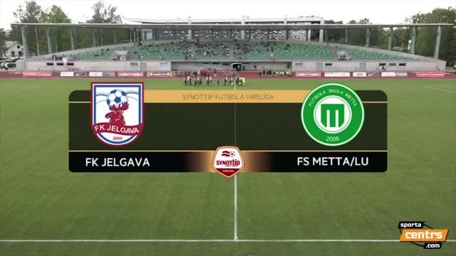 VIDEO: FK Jelgava - FS Metta/LU 2:0 spēles momenti (10.jūl.)