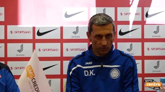 VIDEO: Spartaks Jūrmala - Riga FC 1:0 preses konference (10.jūl.)