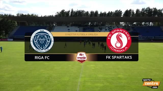 VIDEO: Spartaks Jūrmala - Riga FC 1:0 spēles momenti (10.jūl.)