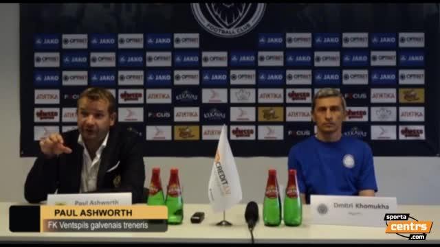 VIDEO: Riga FC - FK Ventspils 1:2 preses konference (24.jūl.)