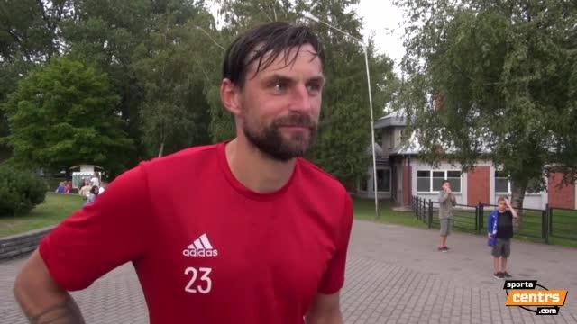 VIDEO: FK Liepāja - FK Spartaks Jūrmala 4:3 pēcspēles komentāri (24.jūl.)