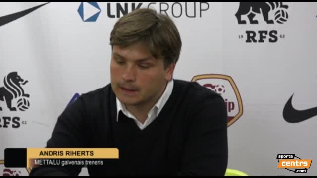 VIDEO: RFS - FS Metta/LU 3:0 preses konference (1.aug.)