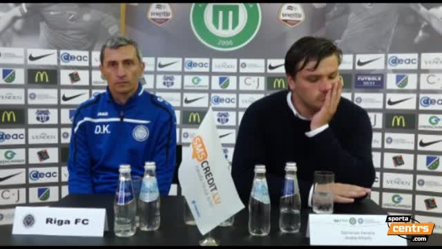 VIDEO: FS Metta/LU - Riga FC 1:1 preses konference (6.aug.)