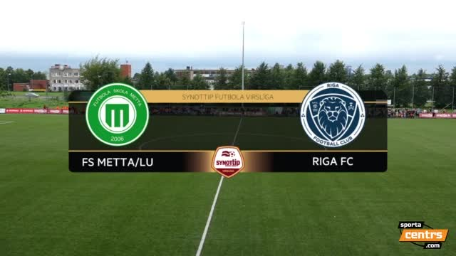 VIDEO: FS Metta/LU - Riga FC 1:1 spēles momenti (6.aug.)