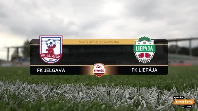 VIDEO: FK Jelgava - FK Liepāja 3:2 spēles momenti (8.aug.)