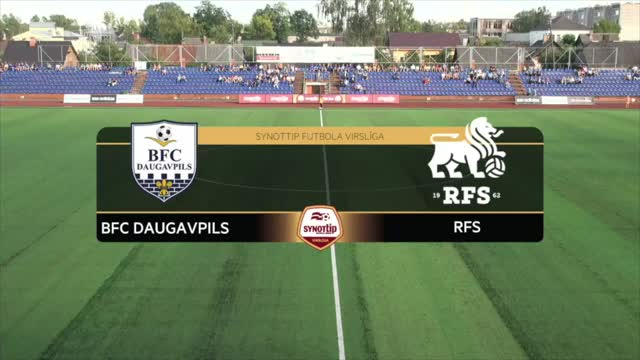 VIDEO: BFC Daugavpils - RFS 0:1 spēles momenti (8.aug.)