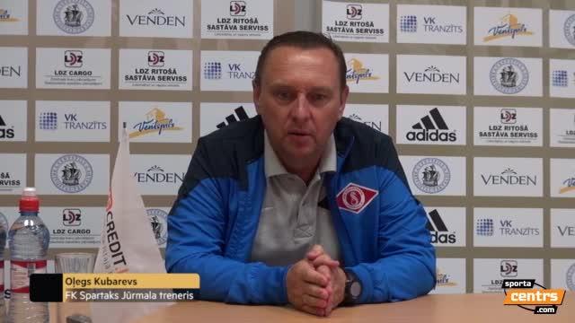 VIDEO: FK Ventspils - FK Spartaks Jūrmala 0:1 preses konference (5.aug.)