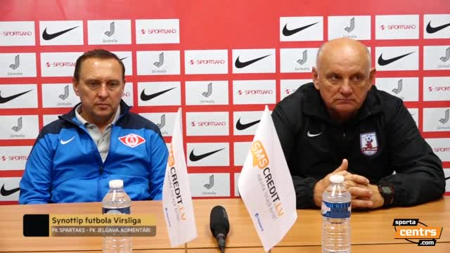 VIDEO: Spartaks Jūrmala - FK Jelgava 0:0 preses konference (13.aug.)