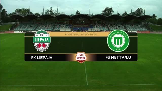 VIDEO: FK Liepāja - FS Metta/LU 1:2 spēles momenti (13.aug.)