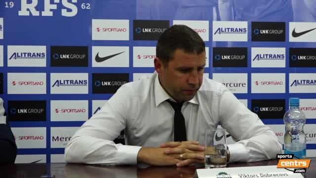 VIDEO: RFS - FK Liepāja 1:1 preses konference (19.aug.)