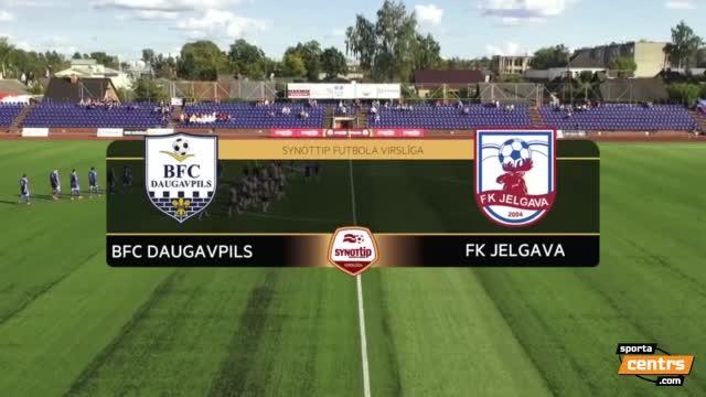 VIDEO: BFC Daugavpils - FK Jelgava 0:0 spēles momenti (24.aug.)