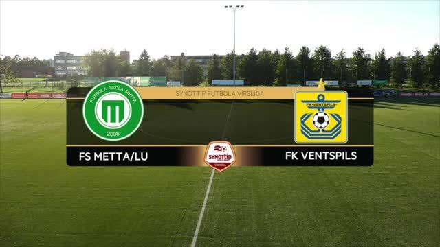 VIDEO: FS Metta/LU - FK Ventspils 1:1 spēles momenti (24.aug.)