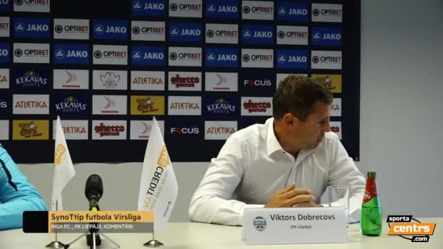 VIDEO: Riga FC - FK Liepāja 0:1 preses konference (26.aug.)