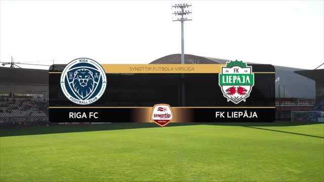 VIDEO: Riga FC - FK Liepāja 0:1 spēles momenti (26.aug.)