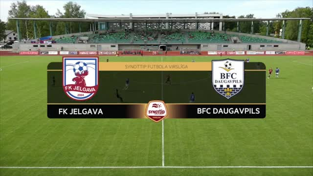 VIDEO: FK Jelgava - BFC Daugavpils 2:0 spēles labākie momenti (28.aug.)