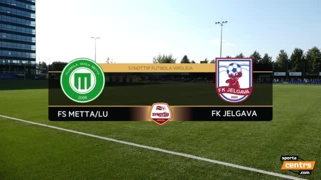 VIDEO: FS Metta/LU - FK Jelgava spēles momenti 0:1 (10.sep.)